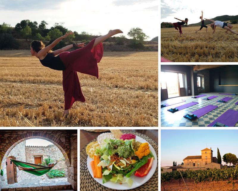 retiro de yoga en Fonollosa