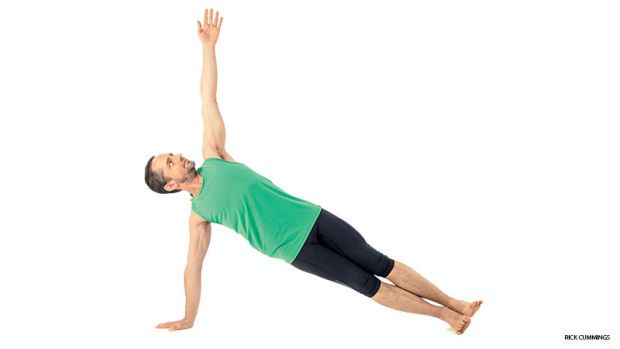 side plank pose