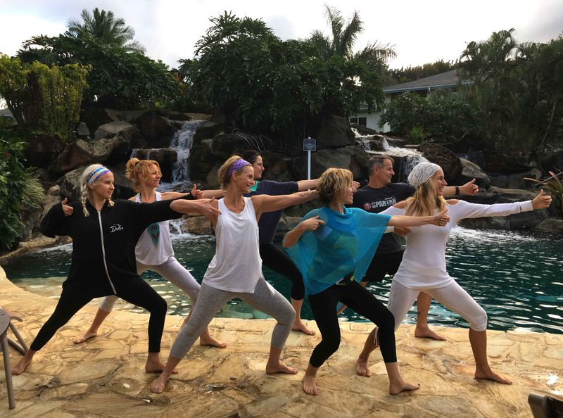 luxury yoga holiday hawaii
