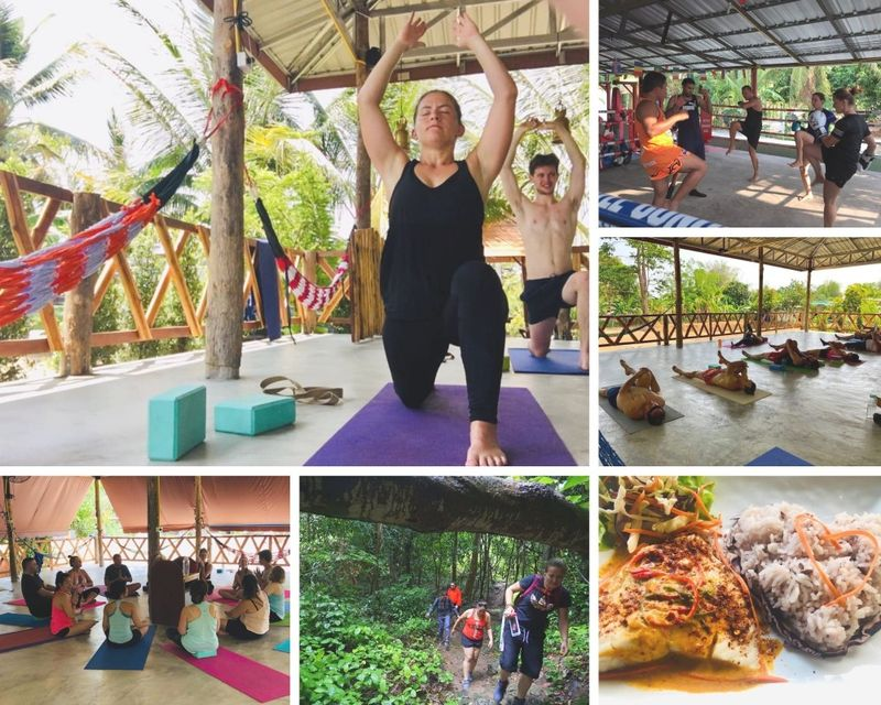 14 Day Wellness Package, Meditation,Yoga, Muay Thai, CrossFit and More in Phetchabun