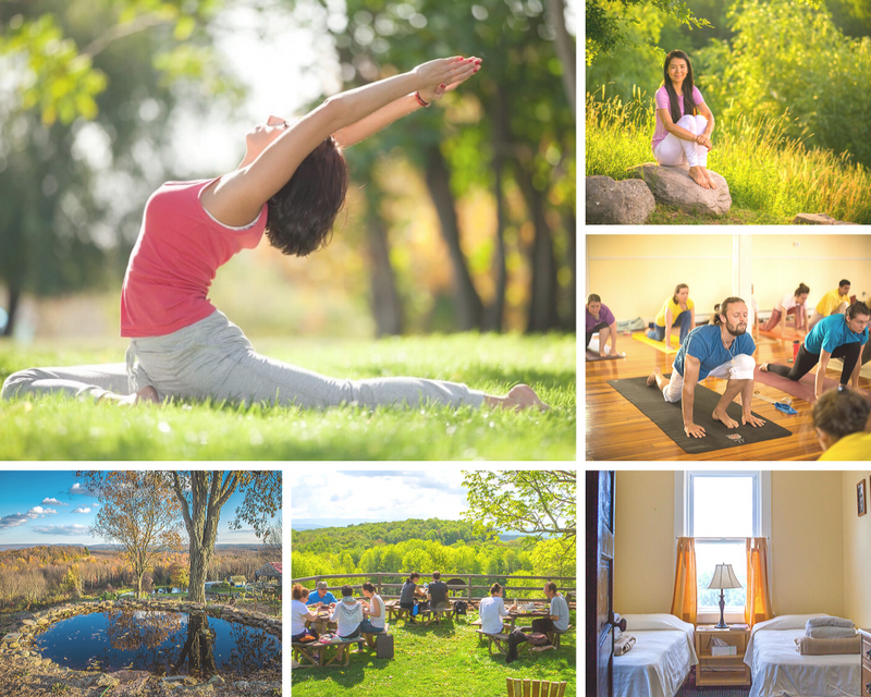 yoga retreat in New York