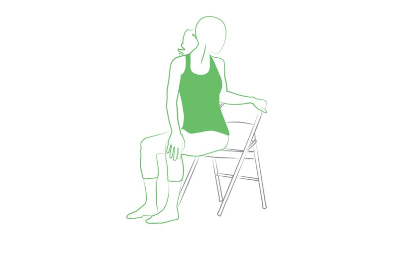 Core Strength Yoga Chair Pose You Can Do At Work