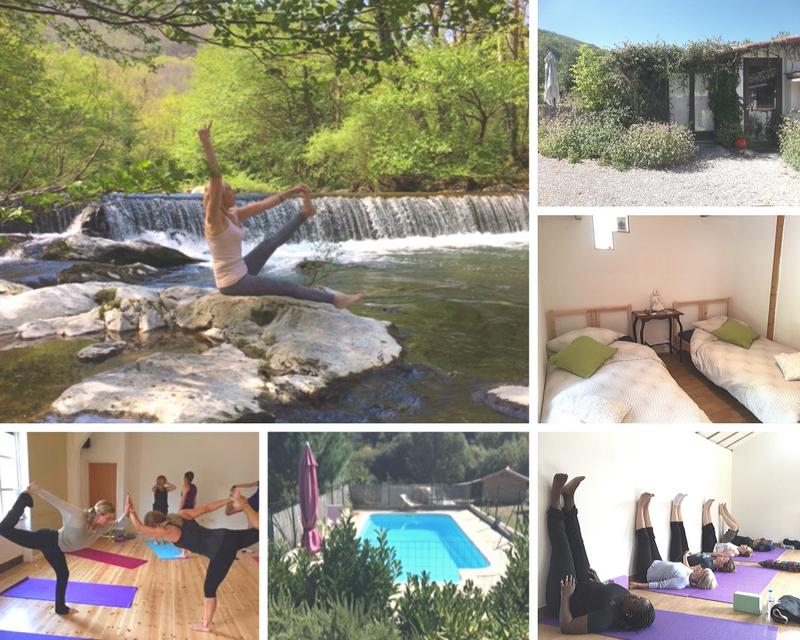 yoga retreat in france occitanie