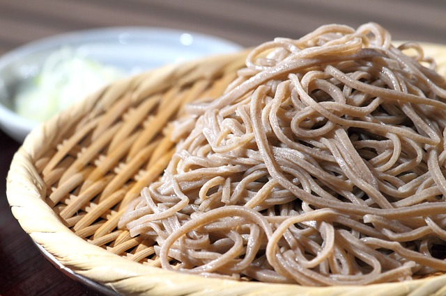 almond butter soba noodles