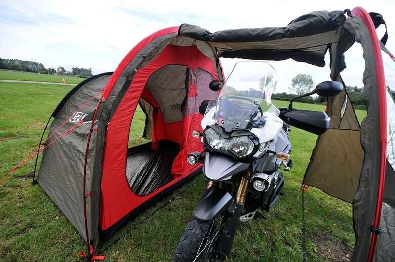 motorbike tour equipment