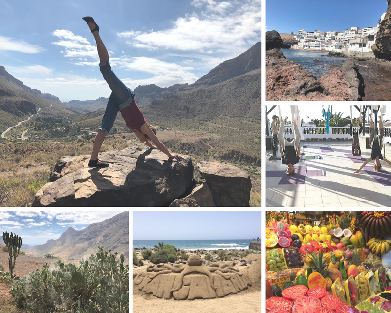 gran canaria dunes retreat
