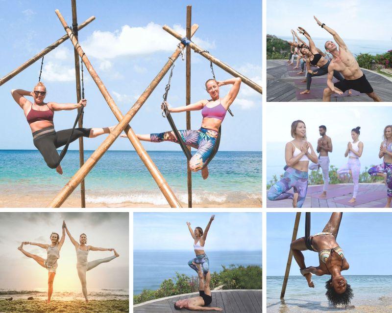 300-Hour Vinyasa & Aerial Yoga TT in Bali (plus Detox, Spa, and Ocean View), Indonesia