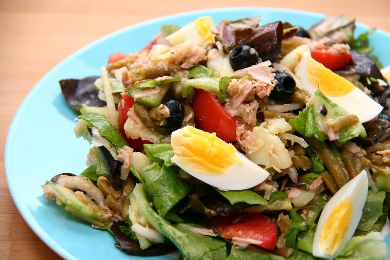 Salade Niçoise in France