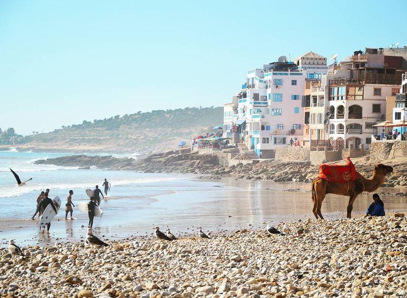 taghazout beach view