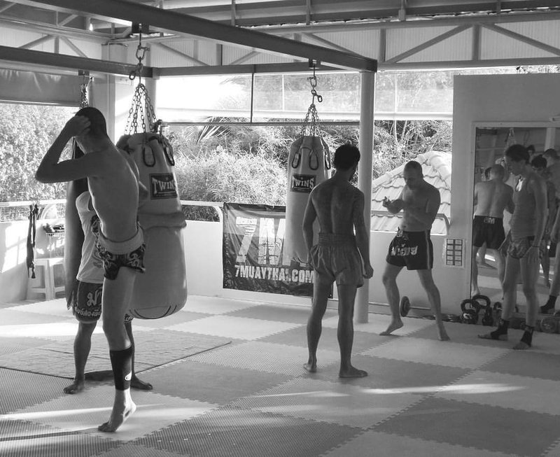 Muay Thai training camp