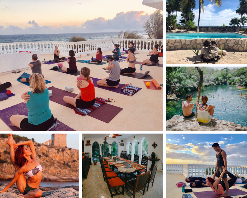 yoga and work in Mexico