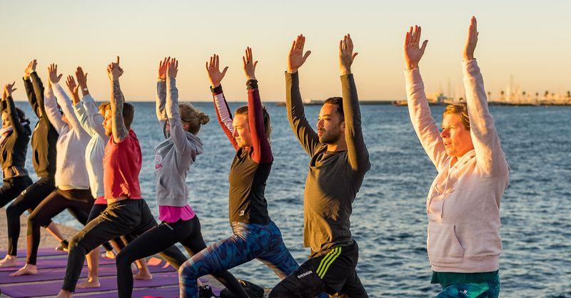 yoga retreat in cascais