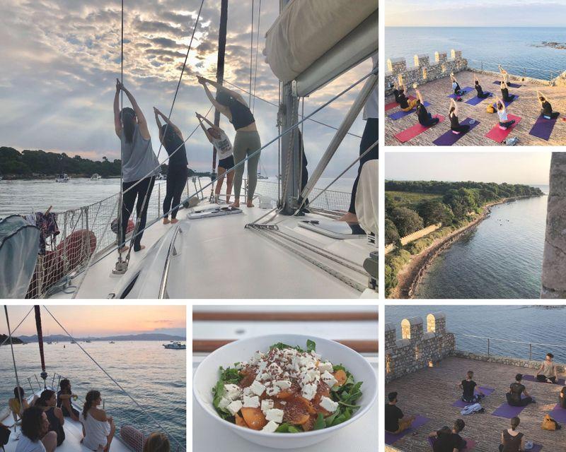 yoga sailing holiday along the french riviera