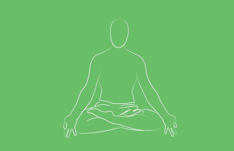 yoga poses for sleep sama vritti breathing