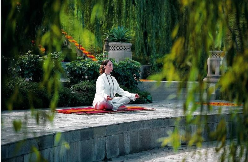 meditation and yoga in UAE