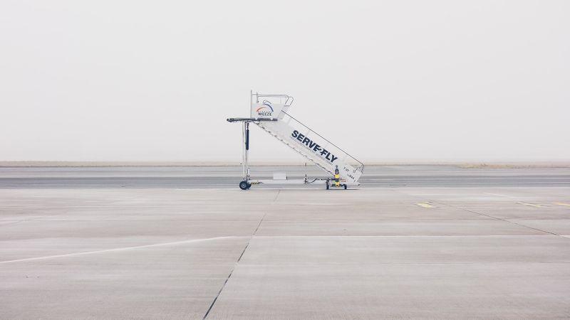 airplane stairs