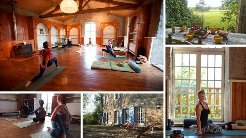 8 days 50 h raja yoga in ariege france