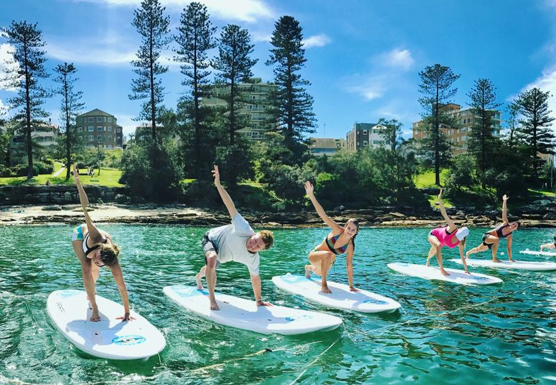 SUP yoga teacher training in australia