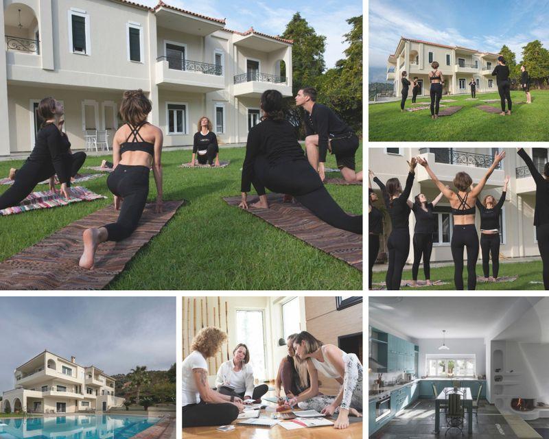 8 Day Yoga Alliance USA Continuing Education Yoga Teacher Training in Attica