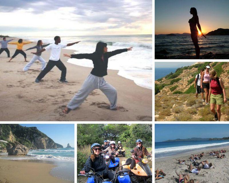Yoga retreat in Corfu
