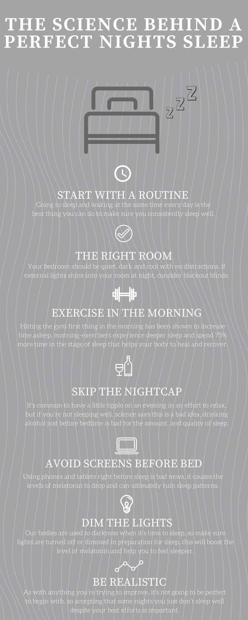 Perfect Nights Sleep Infographic
