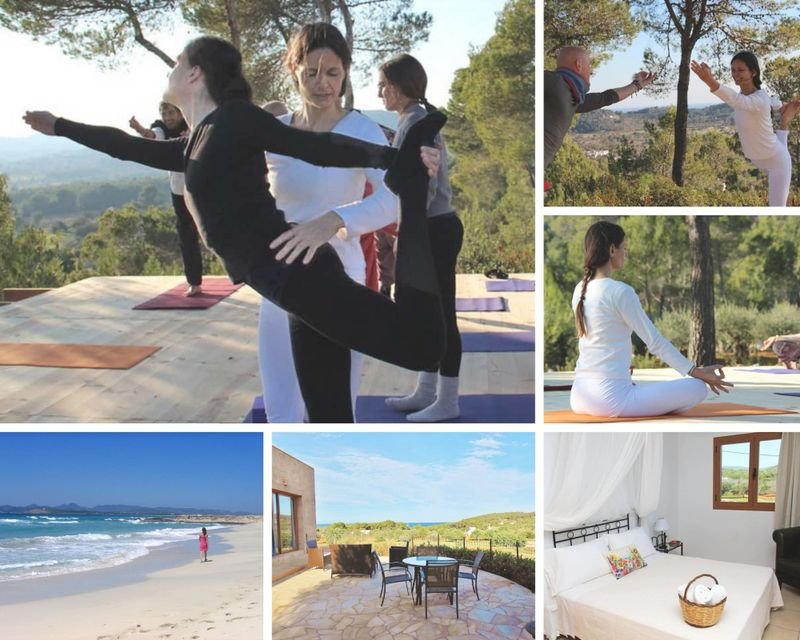 6 Day Personalized Individual Yoga & Mindfulness Meditation Retreat at Sea View Eco House in Ibiza