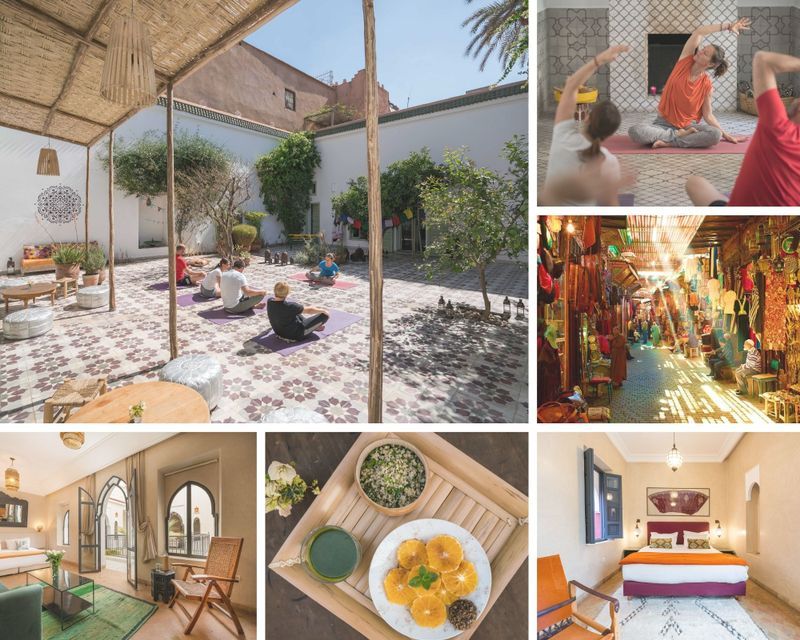 4 Day Yoga Retreat in Marrakech