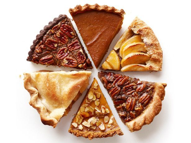 different types of pie