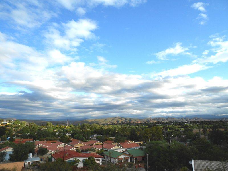 view of Oudtshoorn