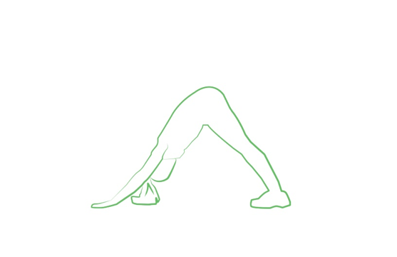 downward dog yoga pose