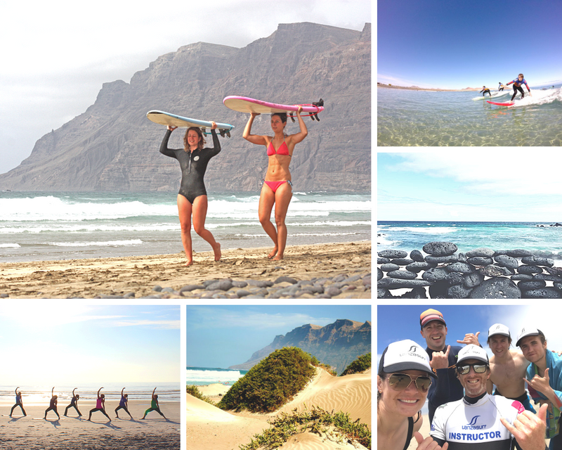 yoga and surf holiday