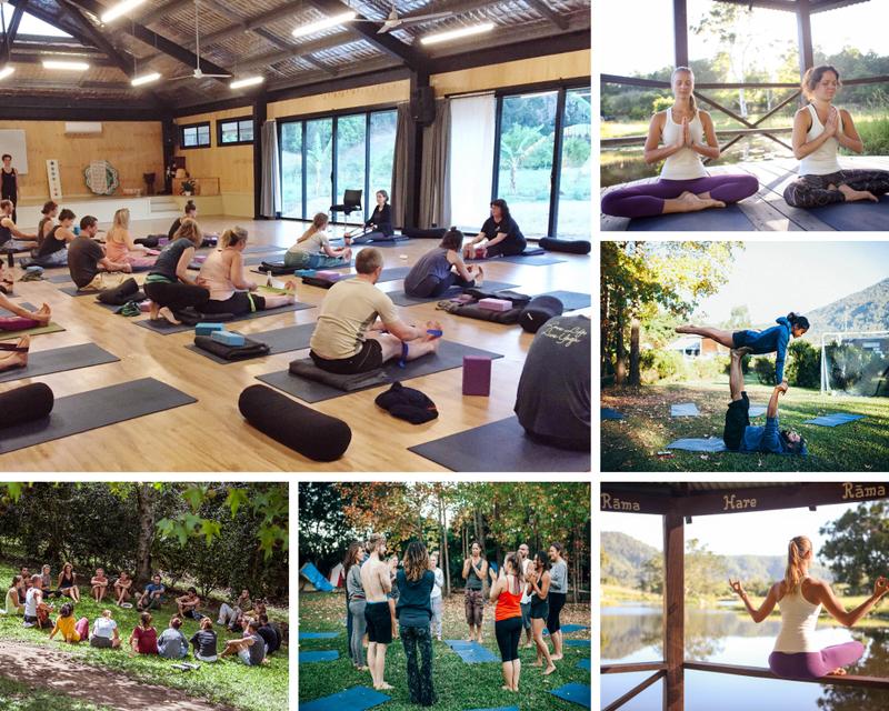 yoga retreat in Eungella
