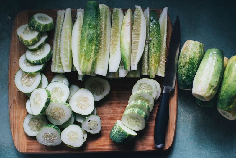 cucumbers cleanse the liver