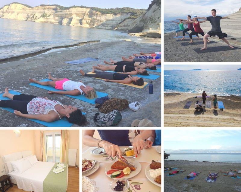 yoga holiday in corfu greece