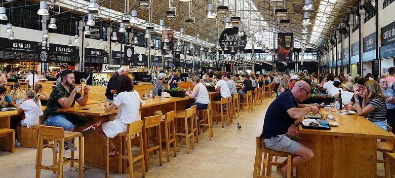 mercado da ribeira lisbon portugal chefs corner