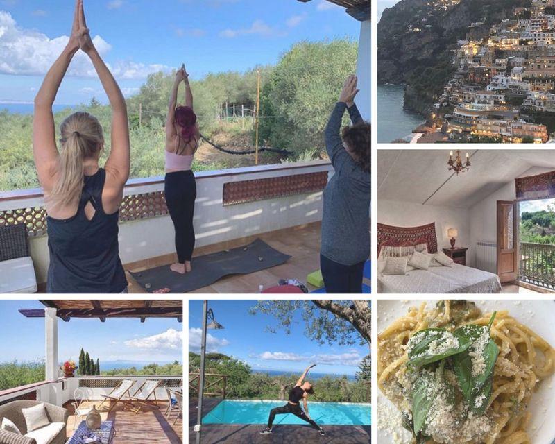 6 day yoga on the amalfi coast