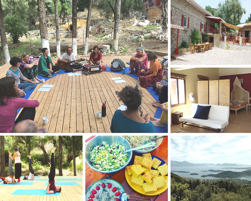 kriya meditation yoga retreat in greece