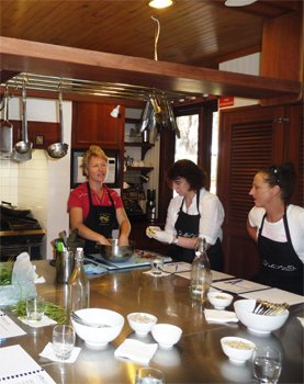 thai cooking at wildwood valley - relaxing cooking class