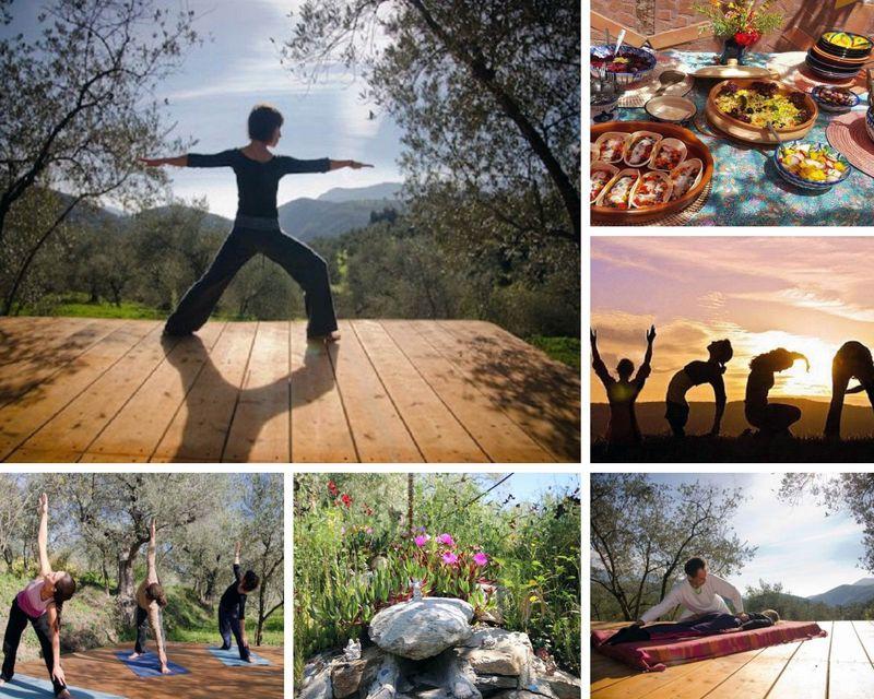 yoga retreat in Granada