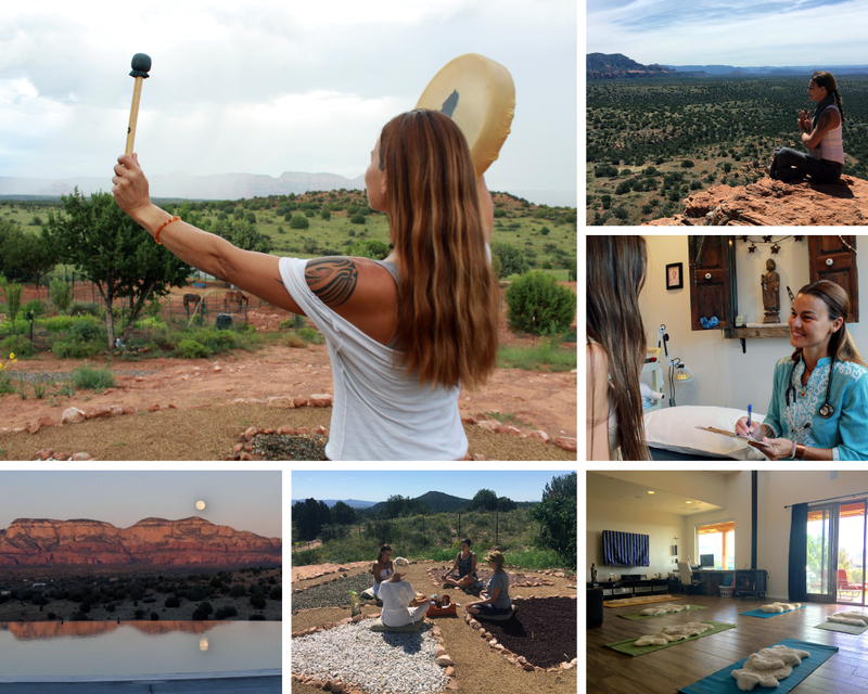 private yoga retreat in the USA