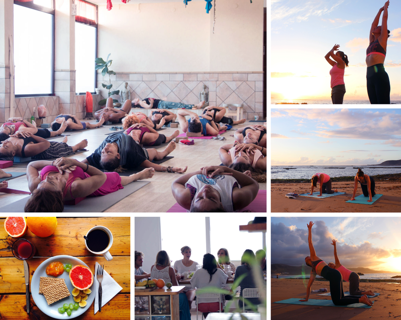 yoga retreat in Las Palmas