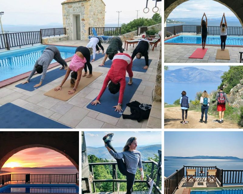 Yoga retreat in Marathon