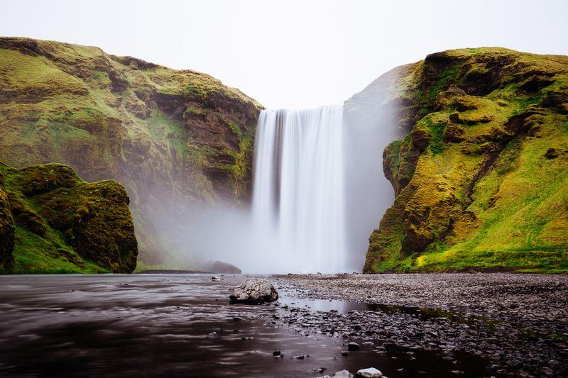 Skógafoss-Iceland