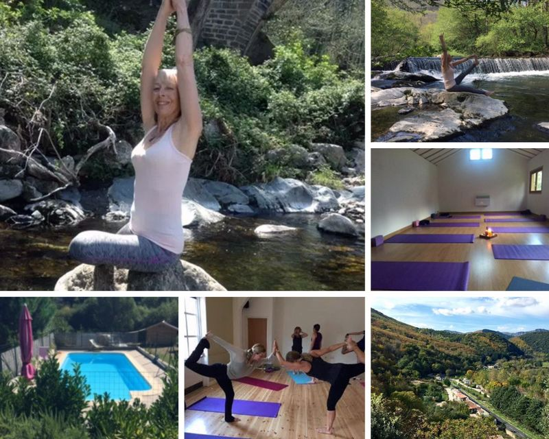 yoga retreat in Occitanie