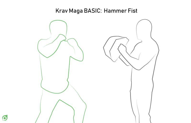 hammer fist step 1 bookmartialarts.com