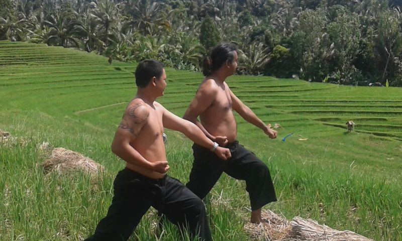 martial arts training in Bali