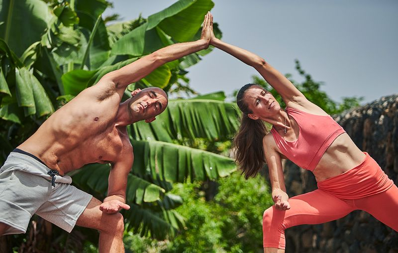 luxury yoga retreat in spain