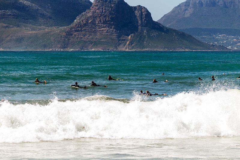 surfing near cape town
