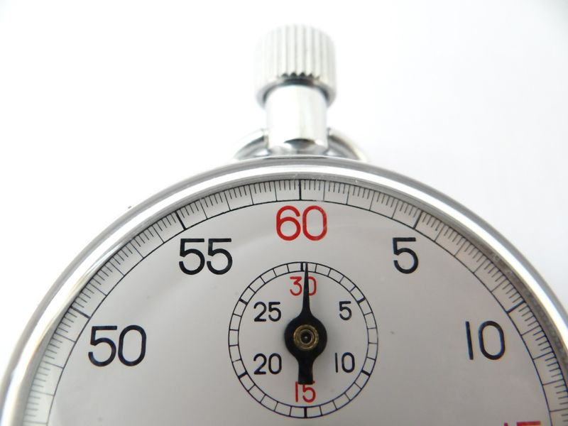 steel clock timer