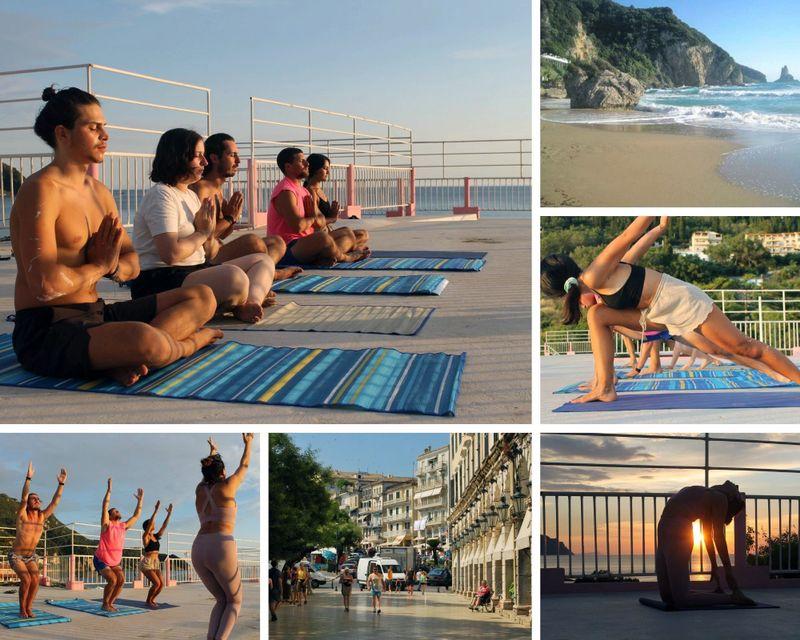 kriya meditation yoga retreat in greece